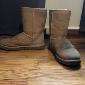 Tan , size 7 short Ugg boots